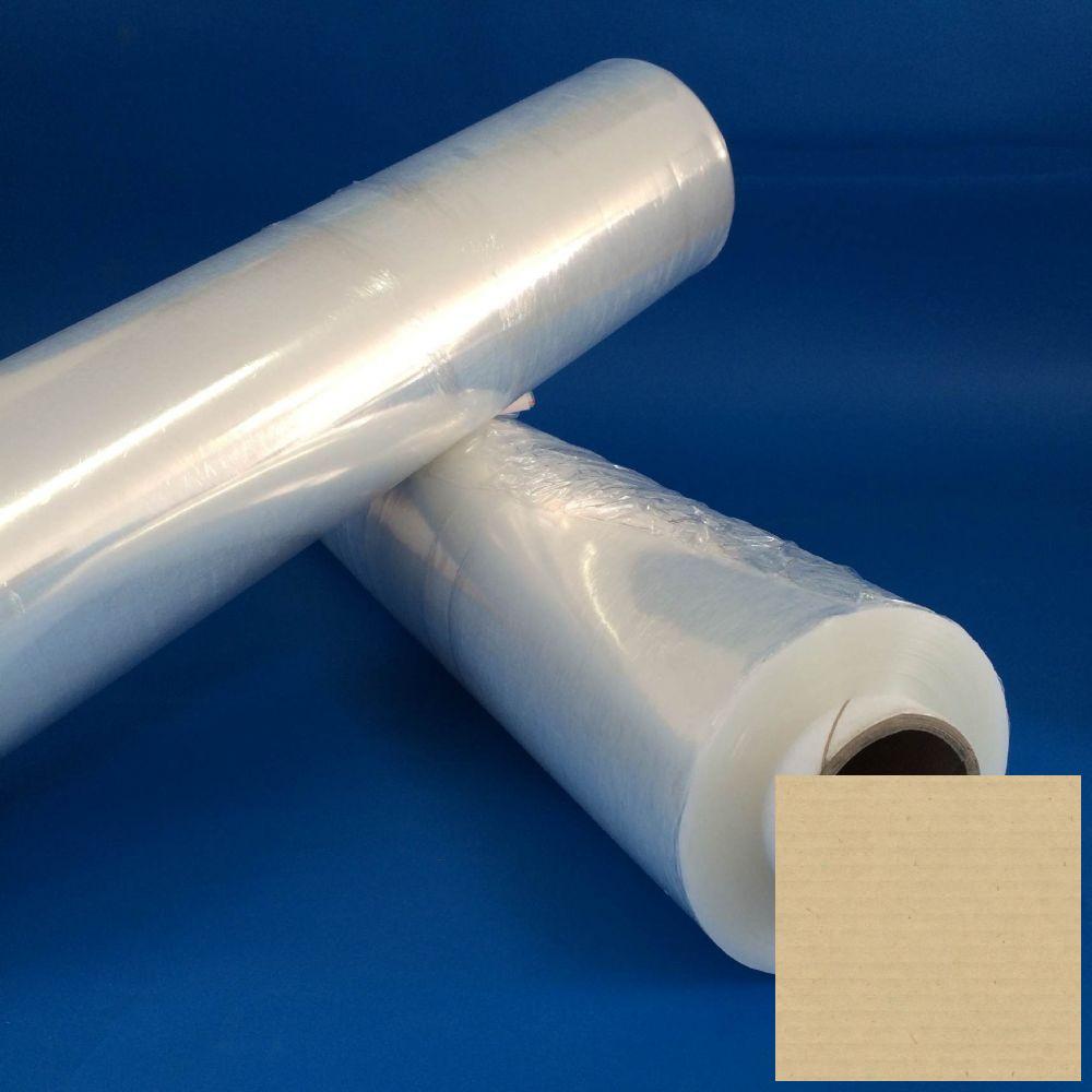 Sztreccsfólia, stretchfólia kézi 500mm/23my/2,7+0,3kg