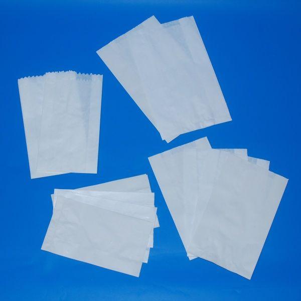 Papír tasak zacskó 220+70x440 mm, 2 kg-os