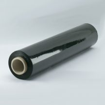 FEKETE Sztreccsfólia, stretchfólia kézi 500mm/23my/2,7+0,3kg - 252 méter