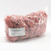 Gumigyűrű 50/8 mm piros (gumi) 1kg