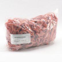 Gumigyűrű 50/8 mm piros cca. 330 db/kg