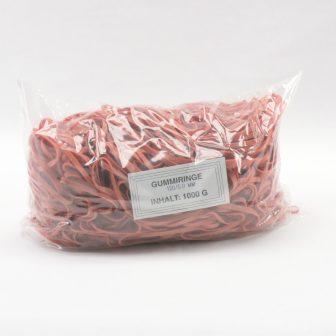Gumigyűrű 120/5 mm piros (gumi) 1kg