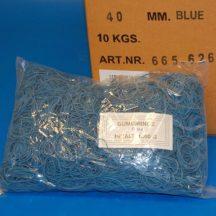Gumigyűrű 40/1 mm kék (gumi) 1kg