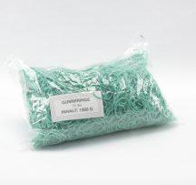 Gumigyűrű 30/1 mm zöld (gumi) 1kg