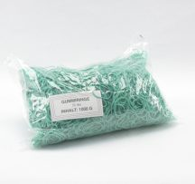 rubber band green, 1,0mm thick