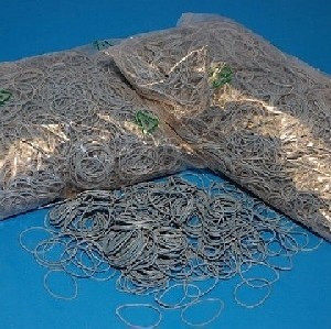 Gumigyűrű 50/1 mm kék (gumi) 1kg