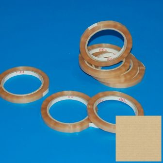 bag closing adhesive tape 9mm/66m PVC