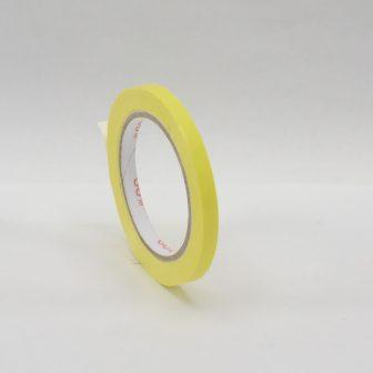 adhesive tape 9mm/66m PVC yellow