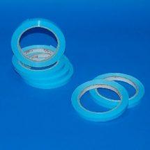 Ragasztószalag 9mm/66m PVC kék