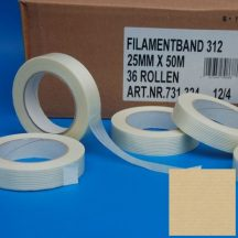 adhesive tape 12mm/50m fiber reinforced