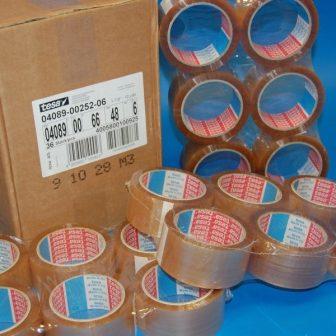 Rag.szalag TESA 4089 48mm/66m áttetsző BOPP/OSZ/NK/46my csomagolásra