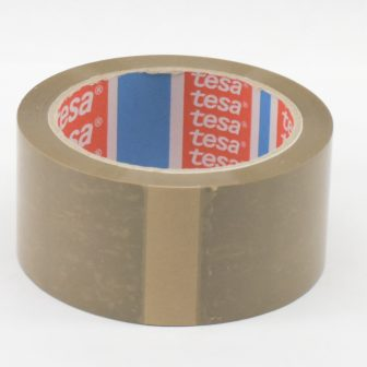 adhesive tape 48mm/66m TESA 4089 brown