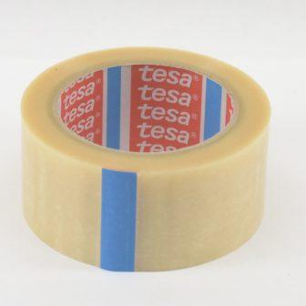 Ragasztószalag 50mm/66m TESA 4124 áttetsző PVC/NK/65my
