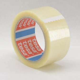 Rag.szalag TESA 4280 48mm/66m áttetsző BOPP/HM/Szi/42my csomagolásra