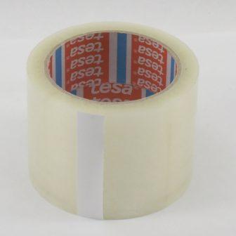 Rag.szalag TESA 4280 75mm/66m áttetsző BOPP/HM/Szi/42my csomagolásra