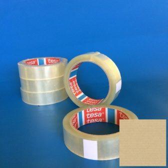Ragasztószalag TESA 4280 25mm/66m áttetsző BOPP/HM/Szi/42my csomagolásra