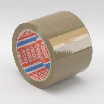 adhesive tape 75mm/66m TESA 4280 brown