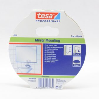 adhesive tape 19mm/5m TESA 4952 foamy double side