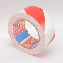 Ragasztószalag 50mm/33m TESA 60760 piros-fehér padlójelölő
