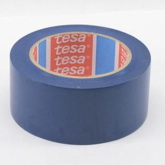 Ragasztószalag TESA 60760 50mm/33m kék PVC/NK/150my padlójelölő