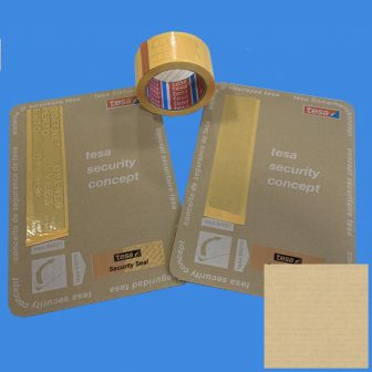 Rag.szalag TESA 64007 50mm/50m sárga biztonsági szalag