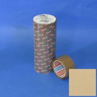 Ragasztószalag 50mm/66m TESA 64014 barna, csendes letek.