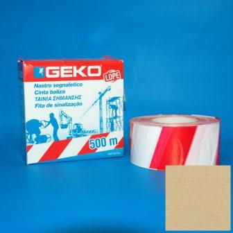 Kordonszalag 70mm/200m piros-fehér LDPE