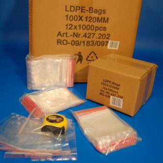 zip bag 100x120 mm
