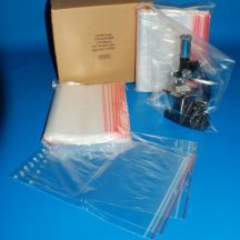 zip bag 230x320 mm