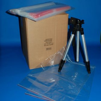 Simítózáras tasak 350x450 mm, visszazárható