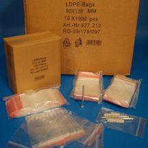 zip bag  80x120 mm