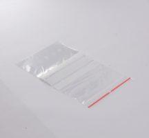 zip bag 120x170 mm writeable lines