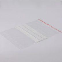zip bag 180x250 mm writeable lines