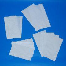 Papír tasak zacskó 140+60x260 mm, 1 kg-os