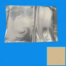Tasak LDPE 500x500+40mm/50mikron ragasztócsíkos lyukasztva