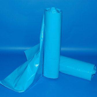 Zsák LDPE/reg 700x1100mm/43mikron, kék, 25db/tek., 250db/#
