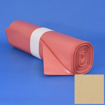 Zsák 700x1100mm/62my LDPE piros