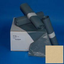 Zsák HDPE 575x1000mm/18mikron, szürke, 50db/tek., 500db/#