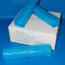 sack 700x1100mm/18my HDPE blue