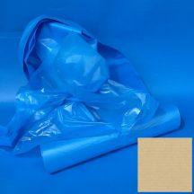 Zsák HDPE 1200x1350mm/25mikron, kék, 10db/tek., 200db/#