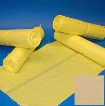 Zsák 700x1100mm/20my sárga