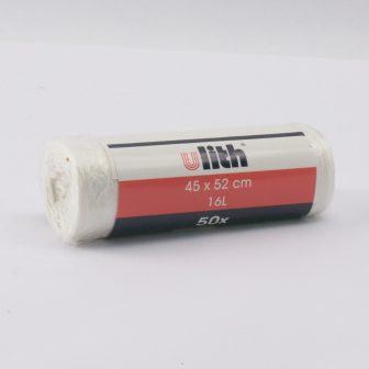 sack 450x520 mm transp., roll Ulith