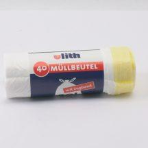 sack 500x600mm HDPE white sealing tape