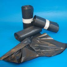 Zsák 1000x1200mm/30my LDPE fekete
