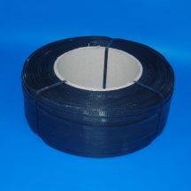Pántszalag PP 12x0,5mm szürke/fekete kb. 2.500 m/tek (kg)