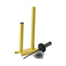 wrap film dispenser, metal, ball-bearings
