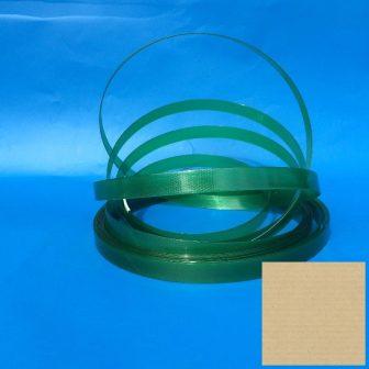 Pántszalag PET 15,5x0,9mmx1500m 910/H zöld 406mm, 510kg