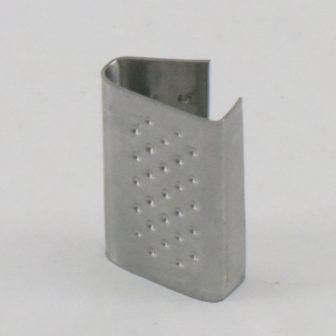 Pánthüvely fém 16 mm érdesített, 1000db/doboz