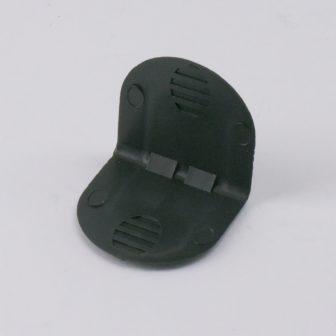 Műanyag élvédő 40x40 mm, tüske nélkül, 2000 db/doboz