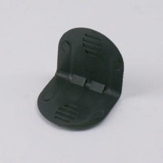 Műanyag sarokélvédő, tüske nélkül, 40x40mm, 2000 db/doboz